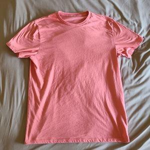 Men's Old Navy Salmon Short Sleeve T-Shirt, Size L